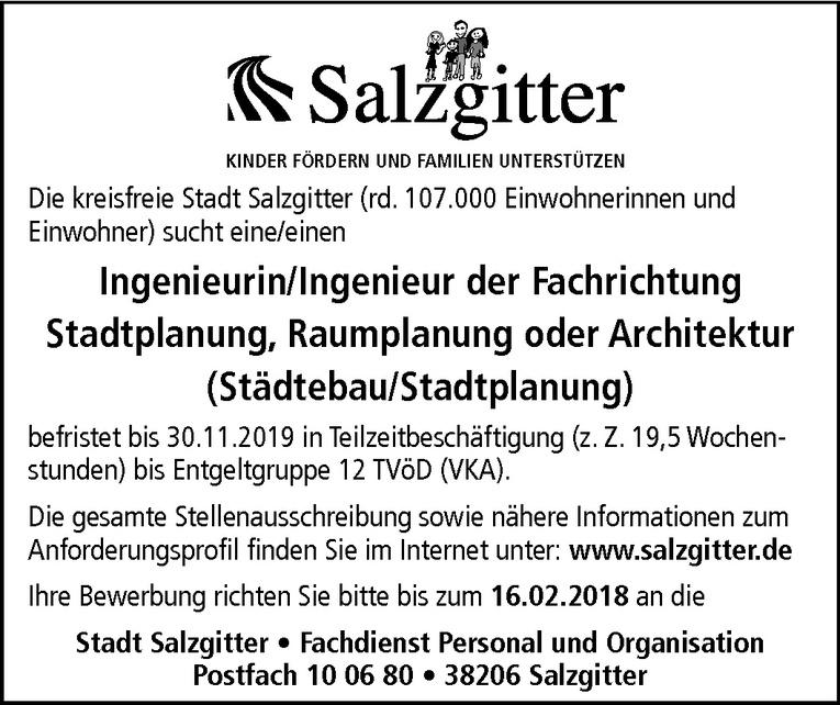 Ingenieur der Fachrichtung Stadtplanung / Raumplanung / Architektur (m/w)