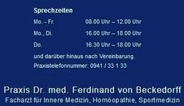 Praxis Dr. med. Ferdinand von Beckedorff