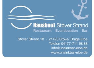Restaurant Stover Strand & Hausboot UnsinkBAR