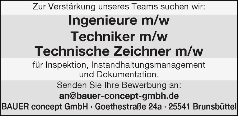 Techniker m/w