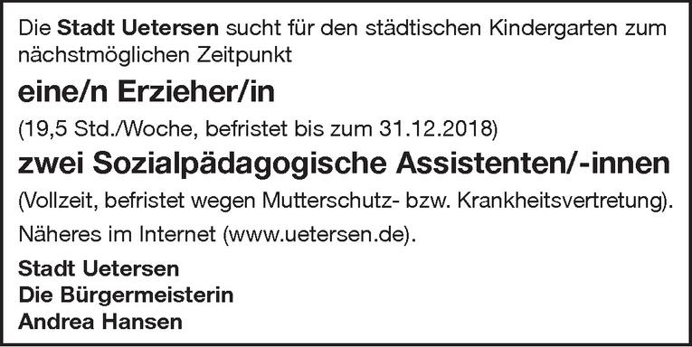 Sozialpädagogische Assistenten/-innen