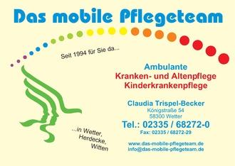 Das mobile Pflegeteam Claudia Trispel-Becker