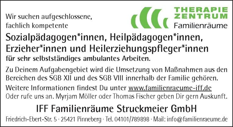 Sozialpädagogen / Heilpädagogen / Erzieher / Heilerziehungspfleger*innen