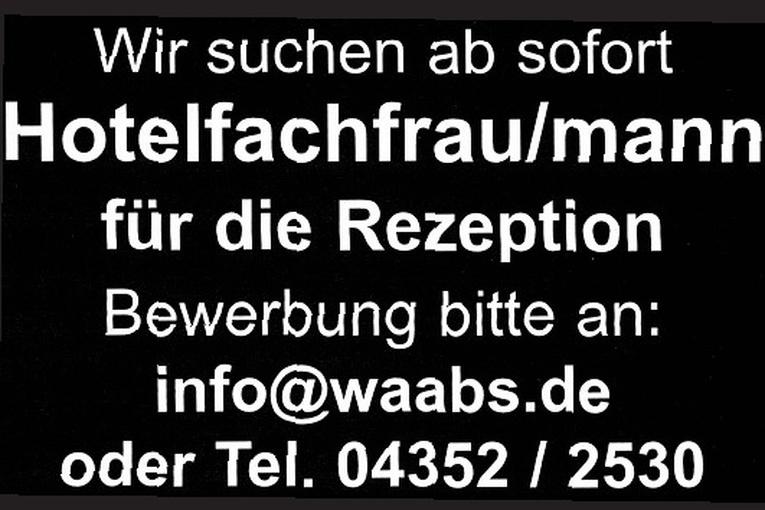 Hotelfachfrau/mann