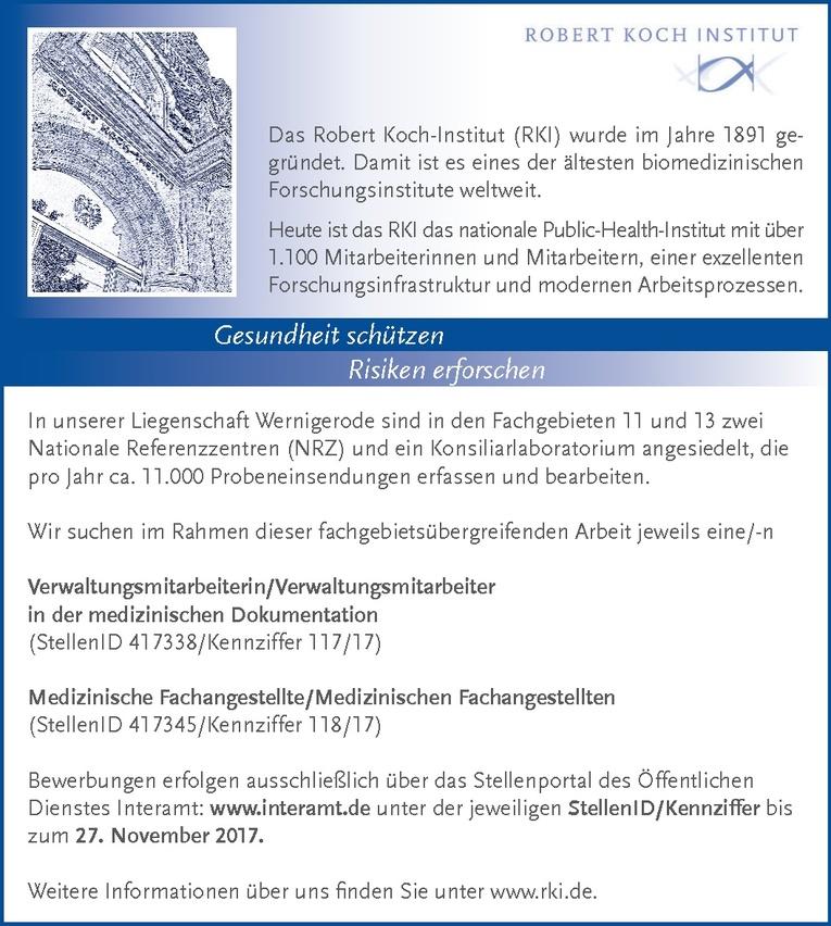 Verwaltungsmitarbeiter in der medizinischen Dokumentation (m/w)