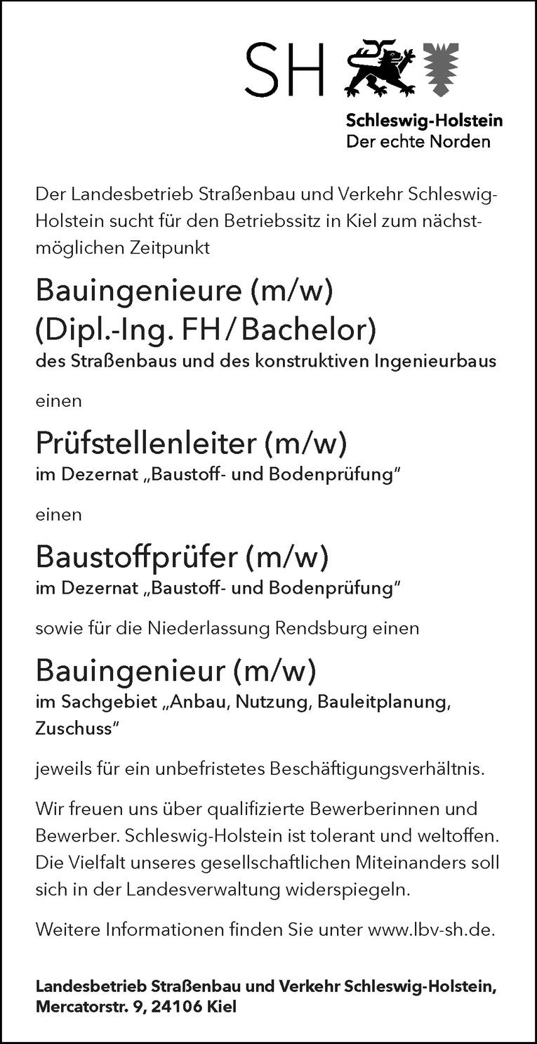 Bauingenieur (m/w)