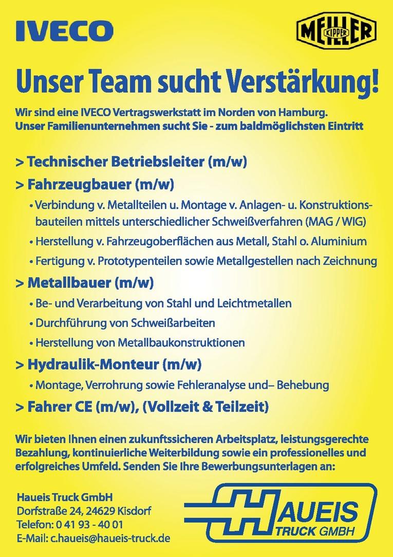 Technischer Betriebsleiter (m/w)