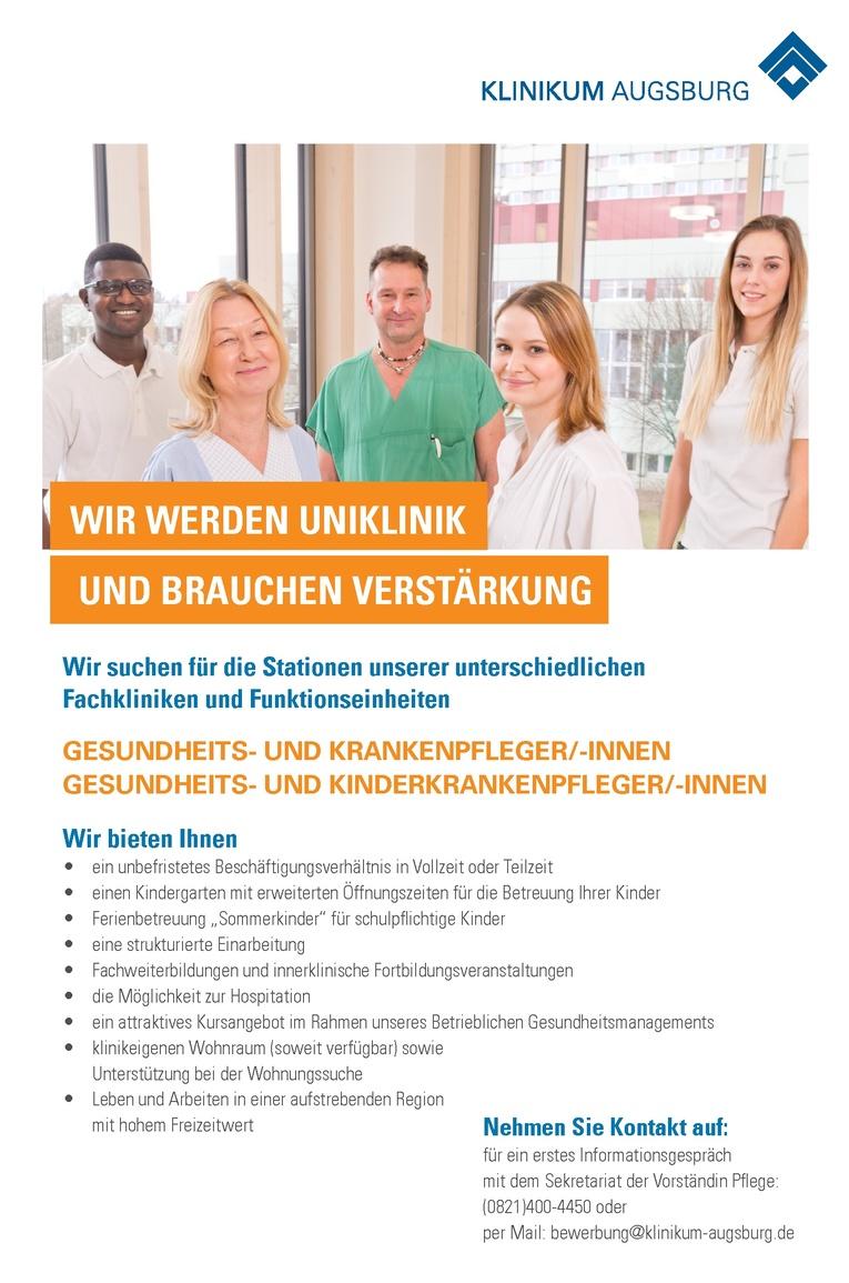 Gesundheits- und (Kinder)Krankenpfleger/innen