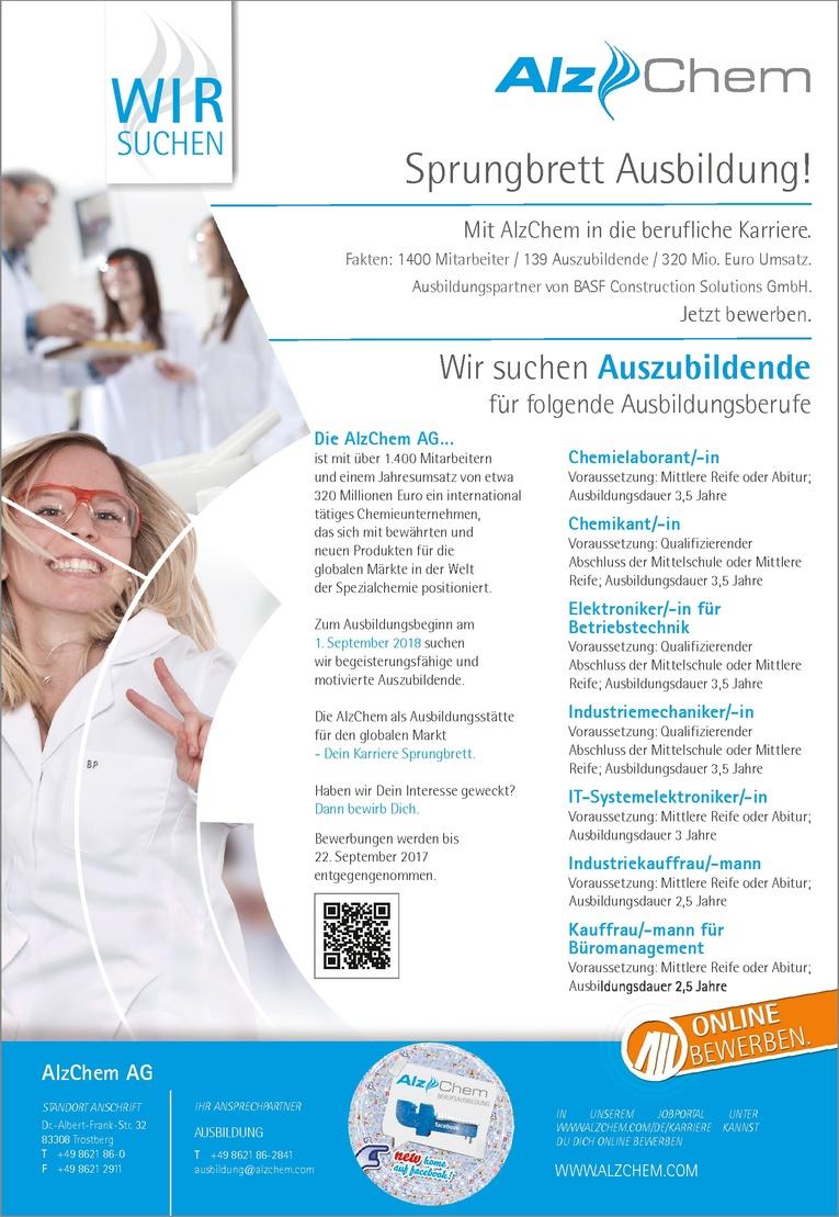 Ausbildung Chemielaborant/-in
