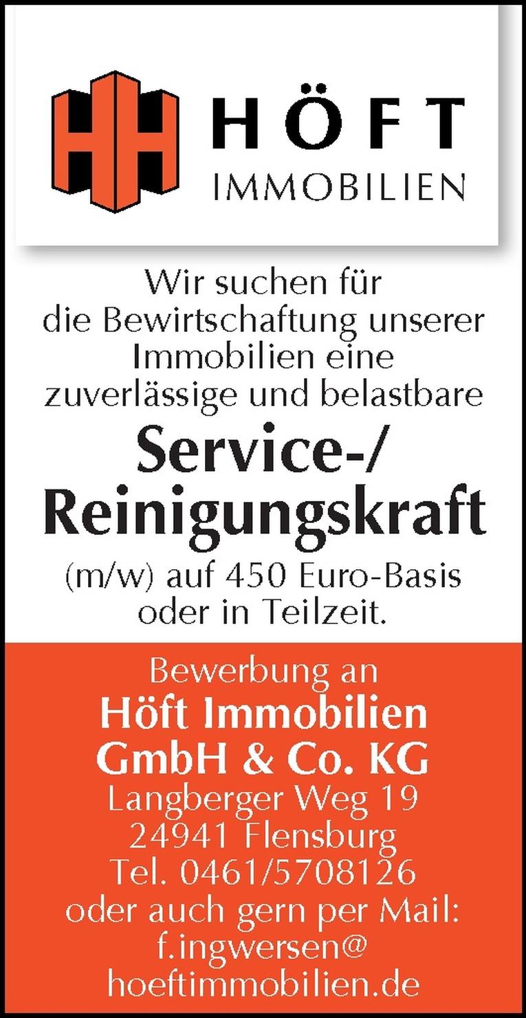 Service-/Reinigungskraft