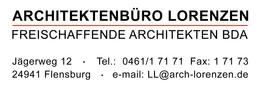 Architektenbüro Lorenzen, Freischaffende Architekten BDA