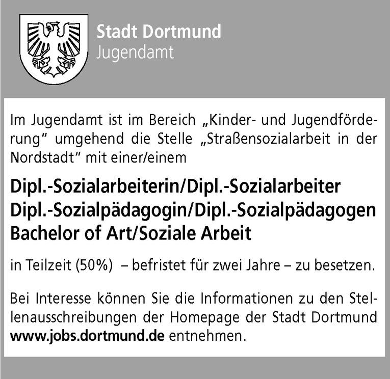 Dipl.-Sozialarbeiter / Dipl.-Sozialpädagoge / Bachelor of Art Soziale Arbeit (m/w)