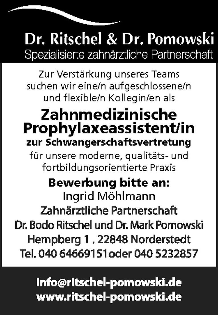 Zahnmedizinische Prophylaxeassistent/in