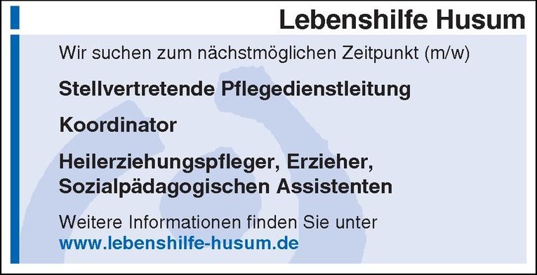 Stellvertretende Pflegedienstleitung (m/w)