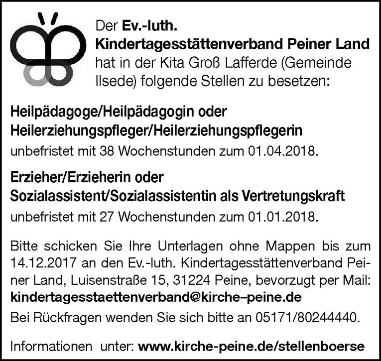Heilpädagoge / Heilerziehungspfleger (m/w)