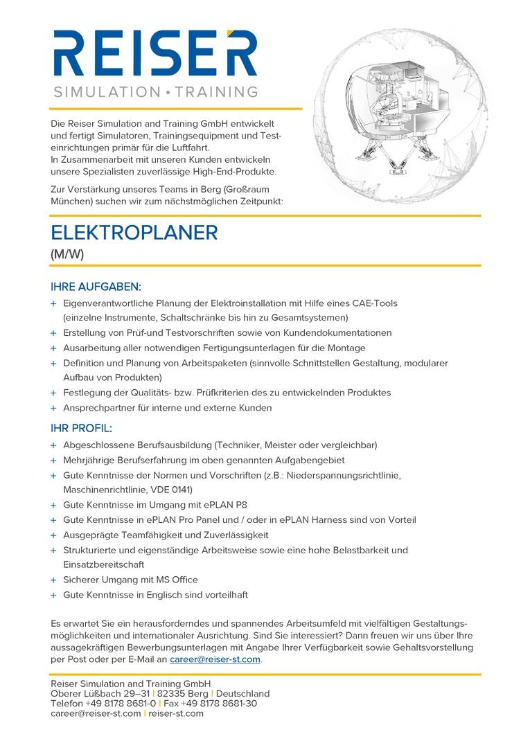 Elektroplaner (m/w)