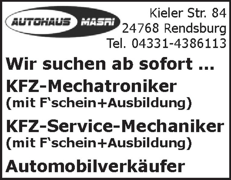 KFZ-Service-Mechaniker