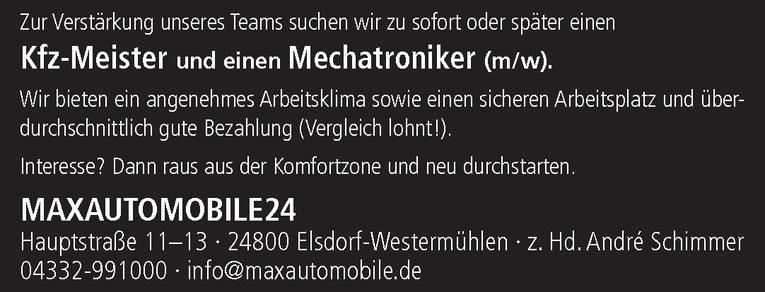 Kfz-Meister (m/w)
