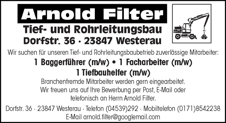 Tiefbauhelfer (m/w)
