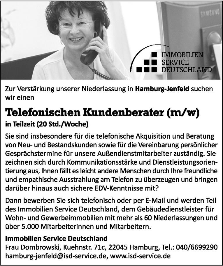 Telefonischen Kundenberater (m/w)