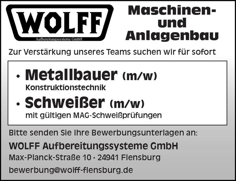 Metallbauer (m/w) Konstruktionstechnik