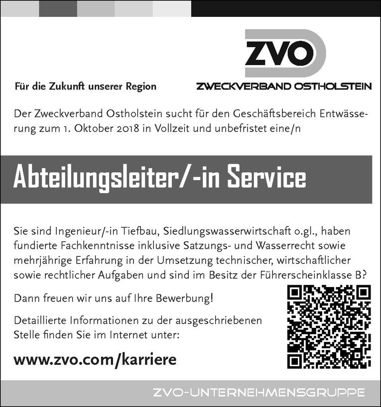 Abteilungsleiter/-in Service