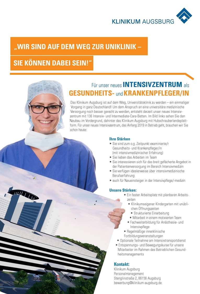 Gesundheits- und Krankenpfleger (m/w)