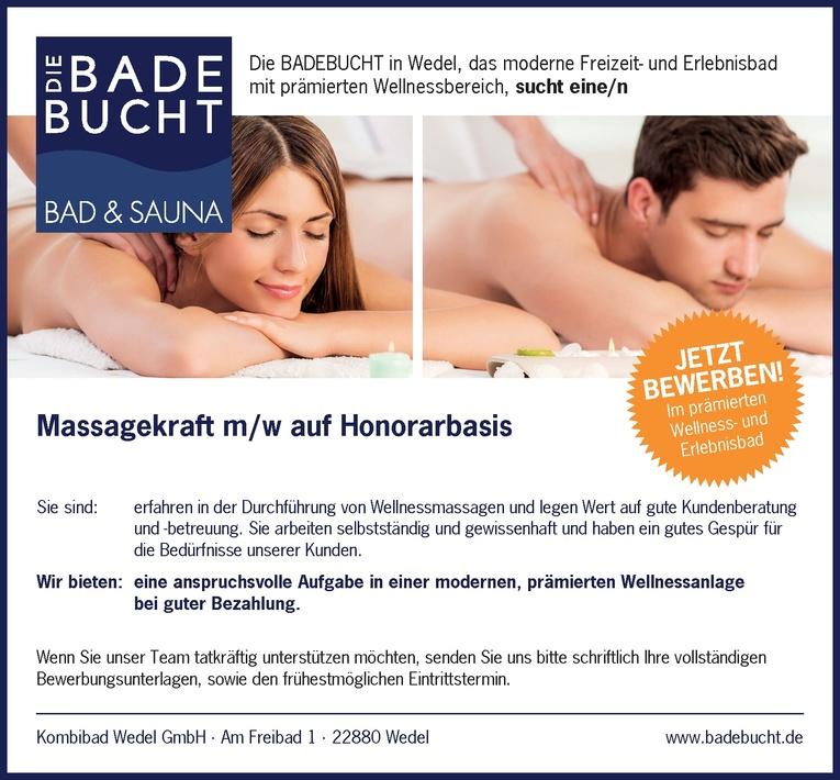 Massagekraft m/w auf Honorarbasis
