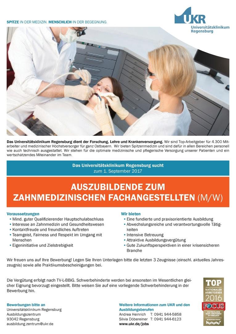 Auszubildende zum Zahnmedizinischen Fachangestellten (m/w)
