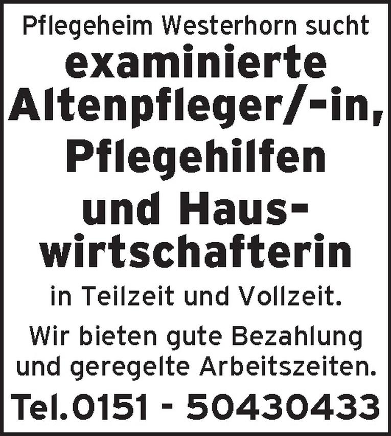 examinierte/r Altenpfleger/-in
