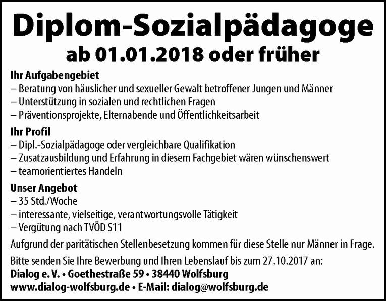 Diplom-Sozialpädagoge
