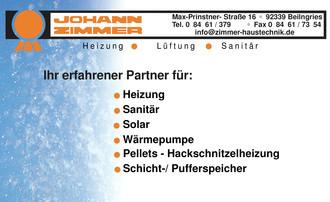 Johann Zimmer Heizungsbau