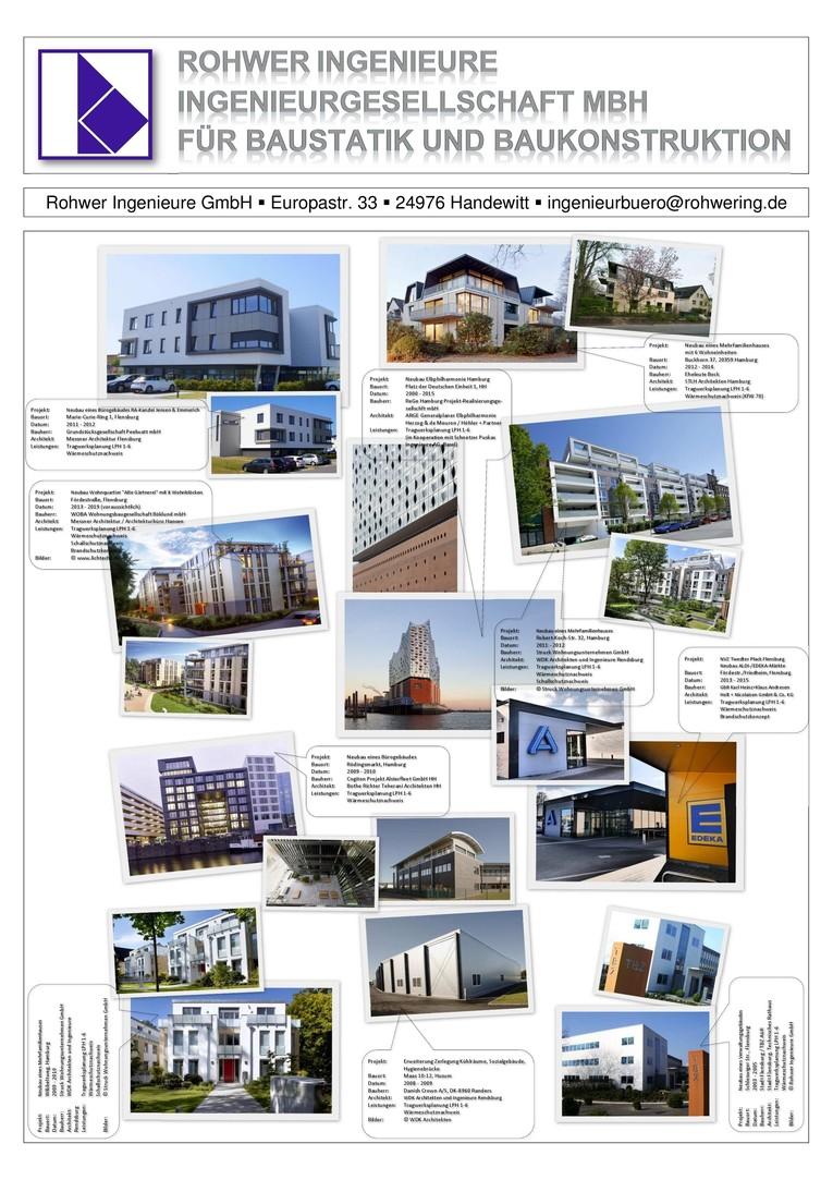 Bauingenieure/Tragwerksplaner (m/w), Fachrichtung konstruktiver Ingenieurbau