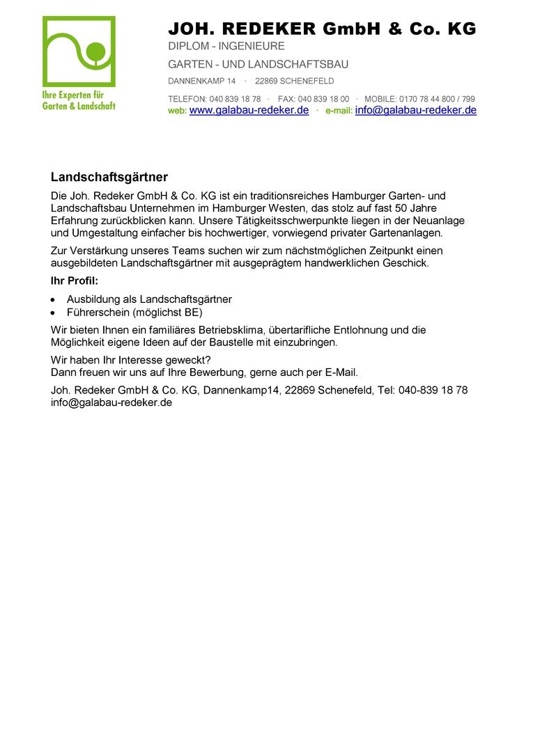 Landschaftsgärtner (m/w)
