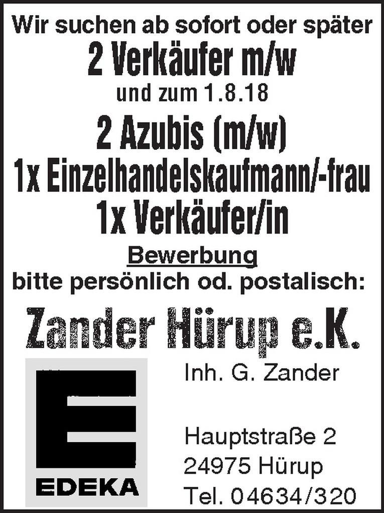 Azubi (m/w) Einzelhandelskaufmann/-frau