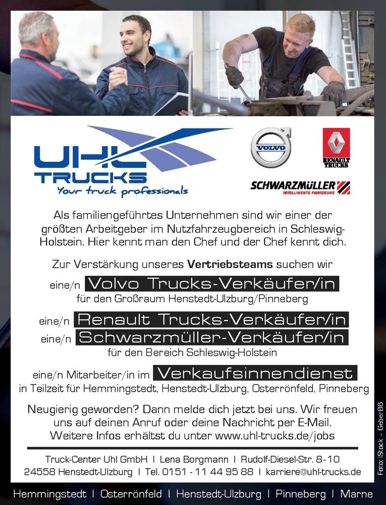 Renault Trucks-Verkäufer/in