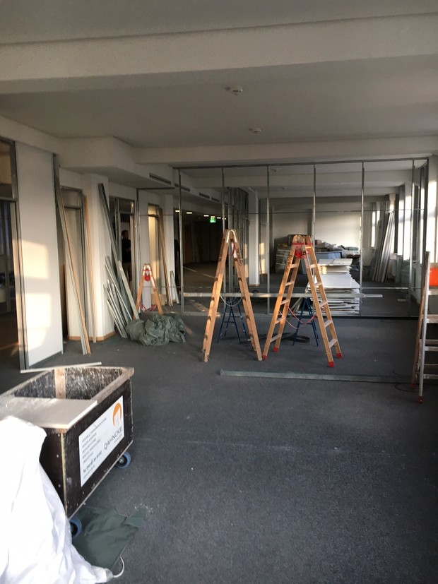 Vorfreude: Unsere neuen Büros in Hamburg - Der Ausbau schreitet voran!