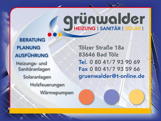 Grünwalder Heizung-Sanitär-Solar