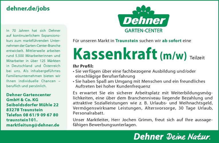 Kassenkraft / Kassierer (m/w)