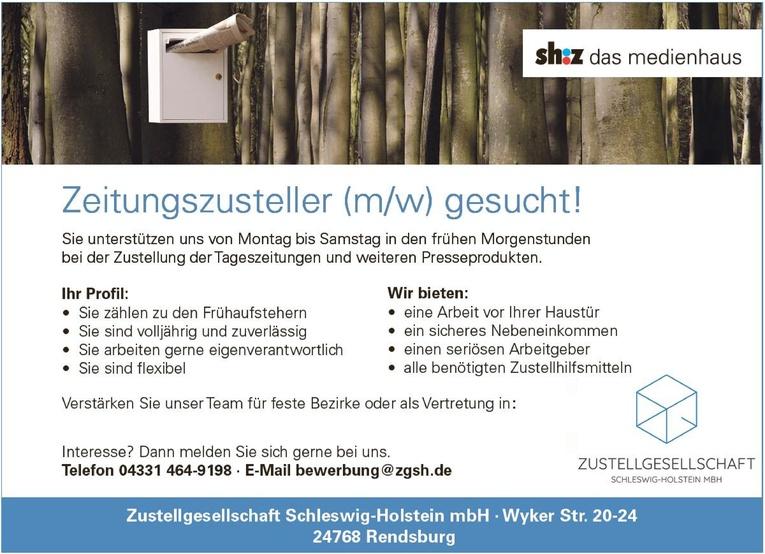 Springer/innen und Stammzusteller/innen für Tageszeitungen