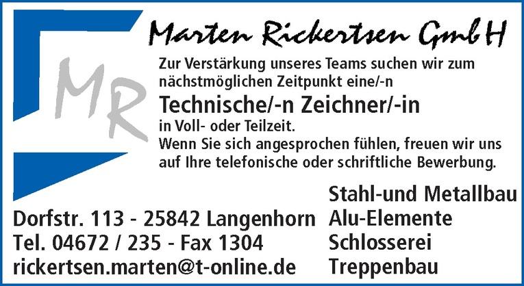Technische/-n Zeichner/-in