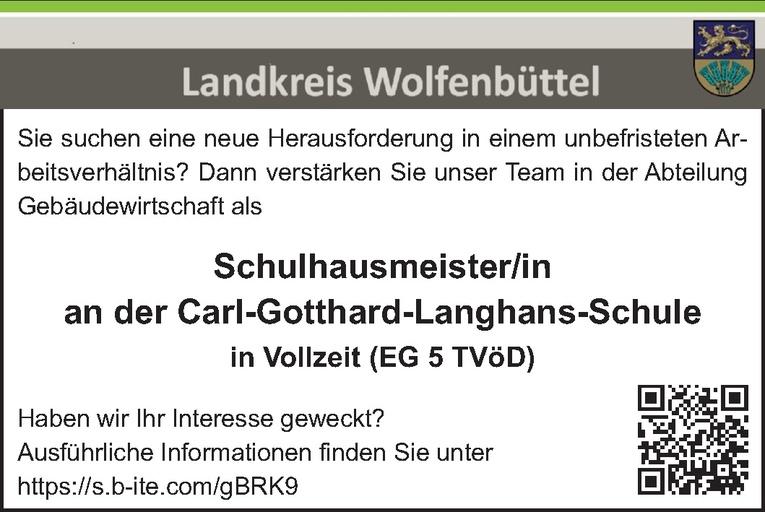 Schulhausmeister/in