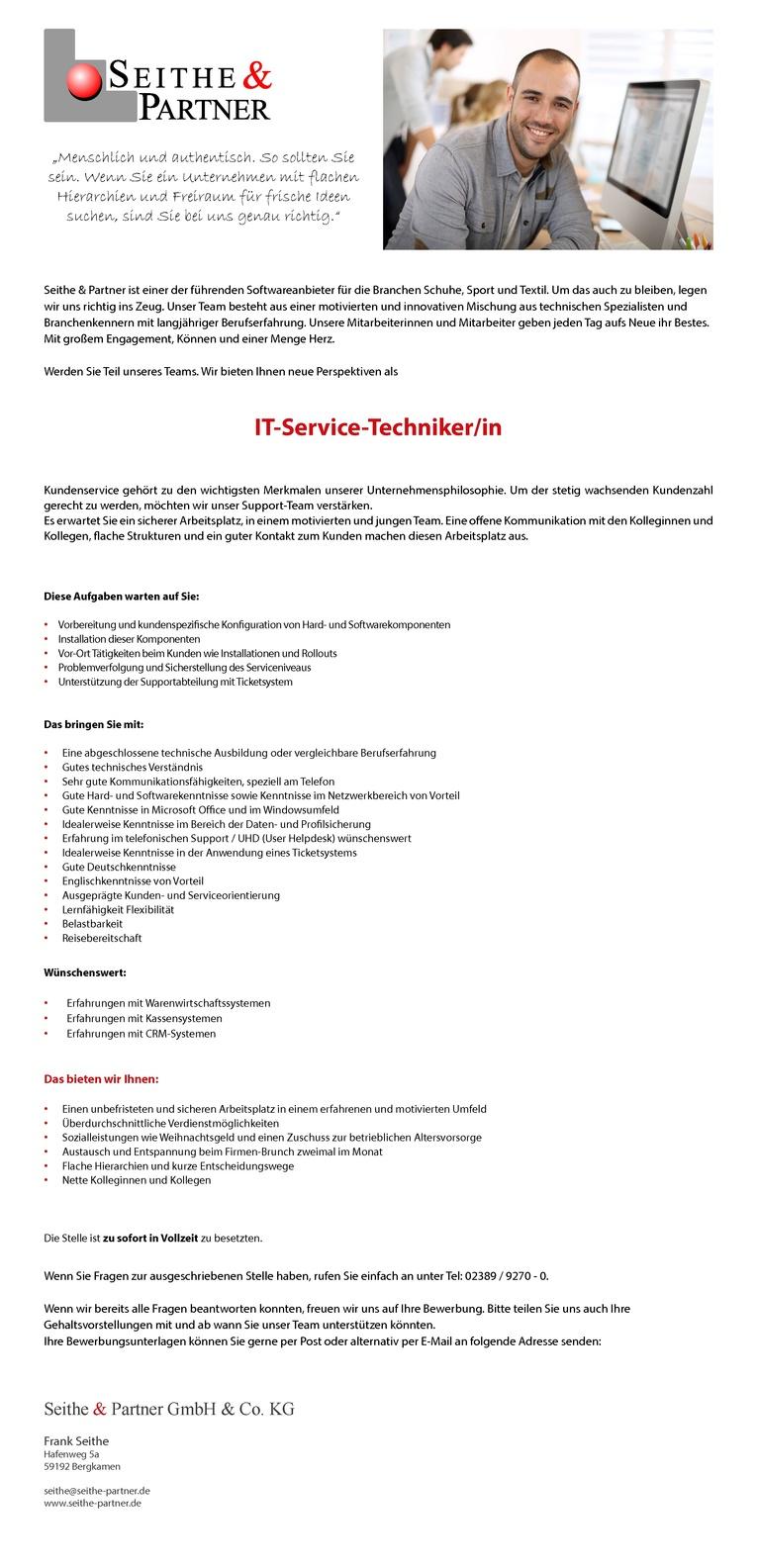 IT-Service-Techniker/in