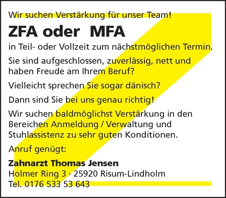 ZFA oder MFA
