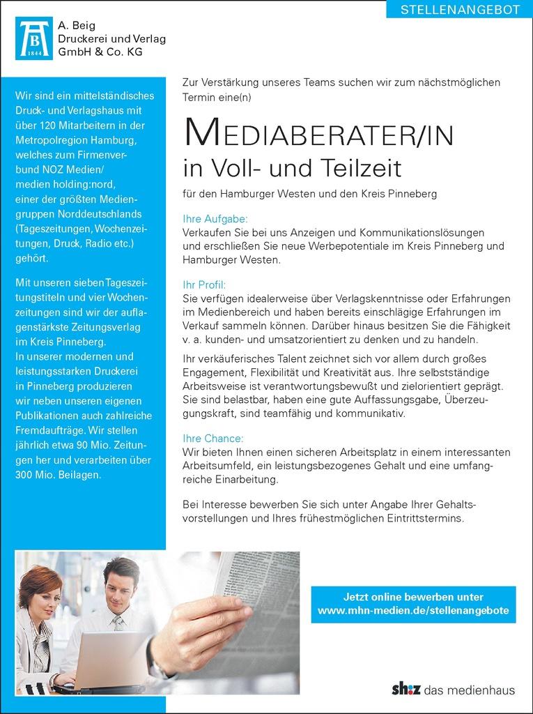 Mediaberater/in