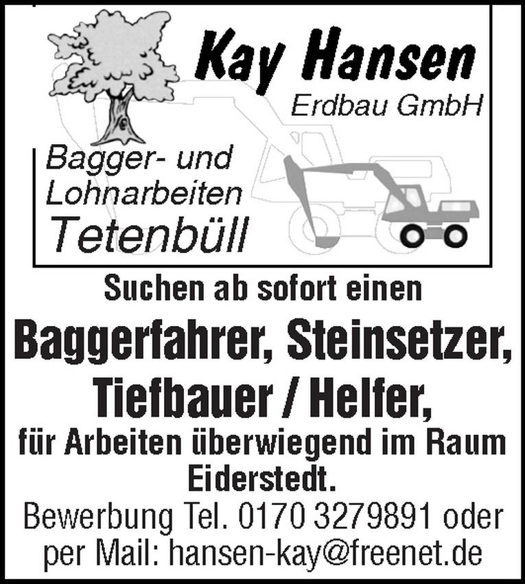 Tiefbauer / Helfer