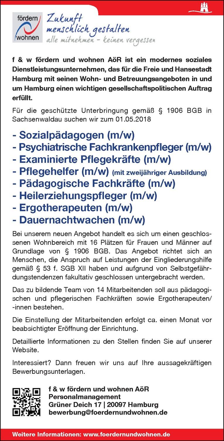 Psychiatrische Fachkrankenpfleger (m/w)