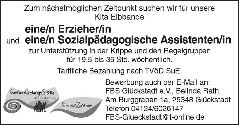 Sozialpädagogische Assistenten/in