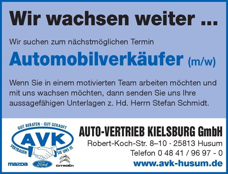 Automobilverkäufer (m/w)