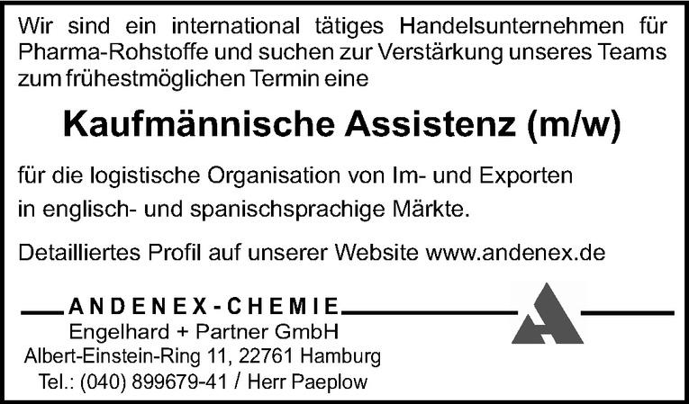 Kaufmännische Assistenz (m/w)